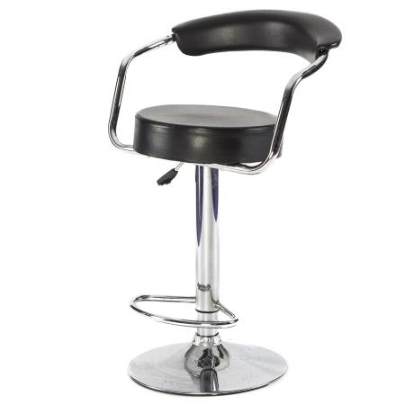 DE46 Comfort stool hire - Black