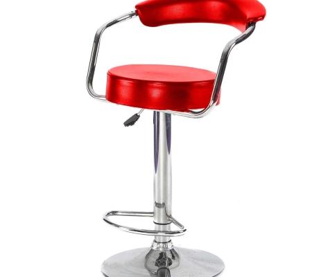 DE46 Comfort stool hire - Red