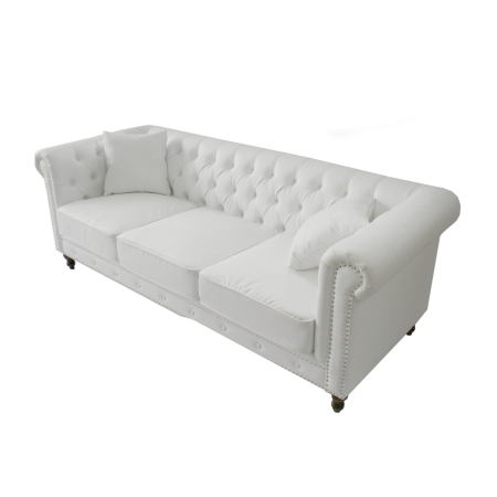 LS95 Chesterfield 3 seater sofa hire