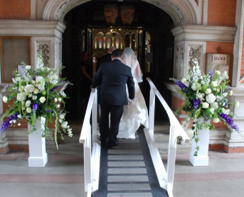 Ornate plinth hire - perfect for flowers