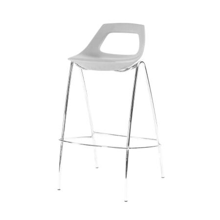 ST15 Stacker bar stool hire - Grey