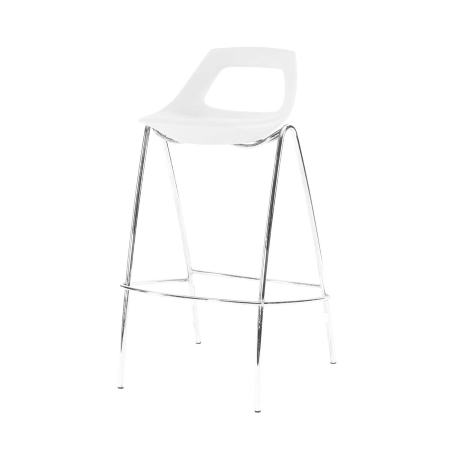 ST15 Stacker bar stool hire - White