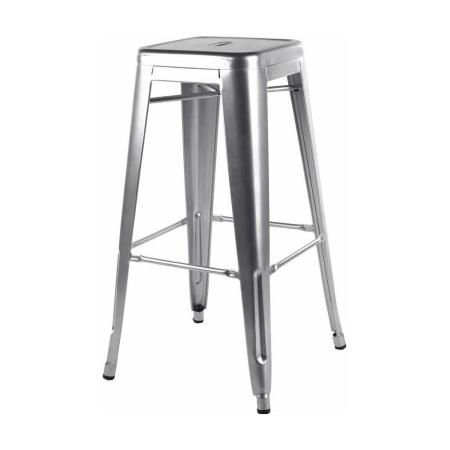 ST20 Tolix Silver stool hire