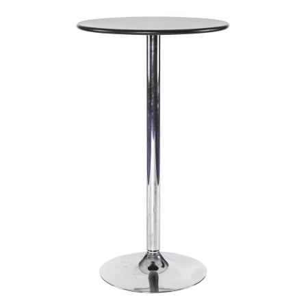 TB61 Bar table hire - Black