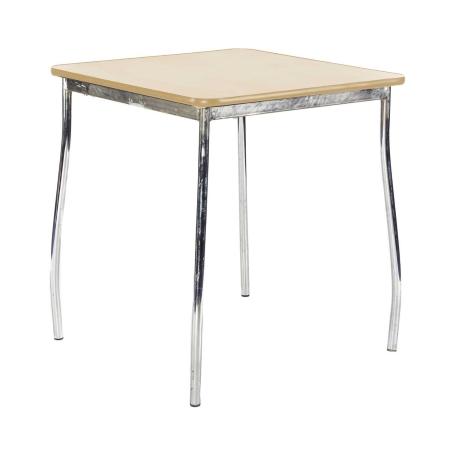 TB76 Milo bistro table hire - Natural