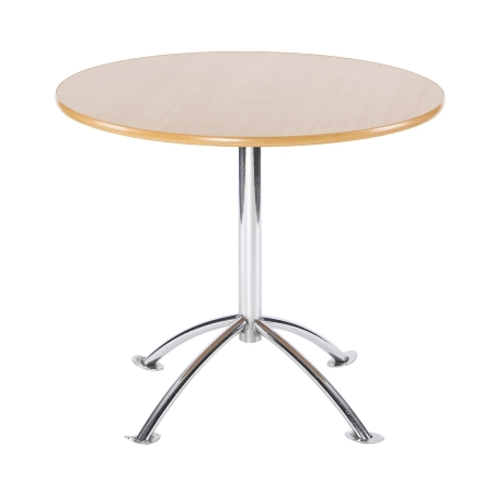 TB77 Arc bistro table hire - Natural