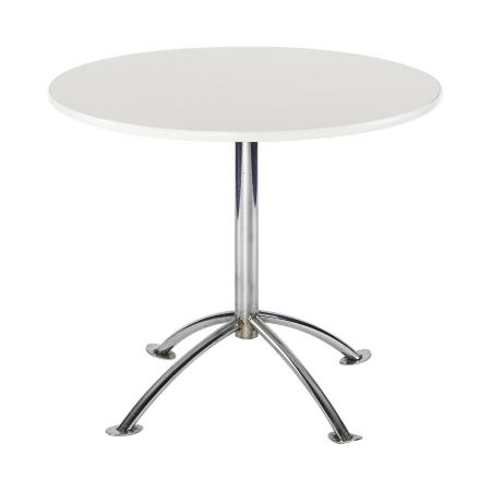 TB77 Arc bistro table hire - White