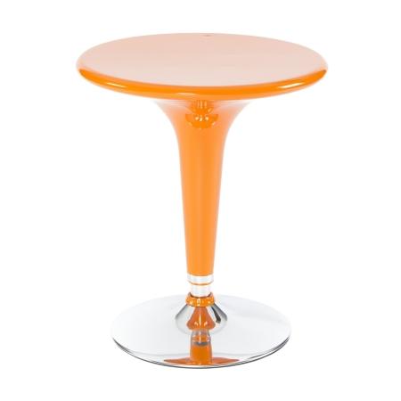 TB80 Sputnik bar table hire - Orange