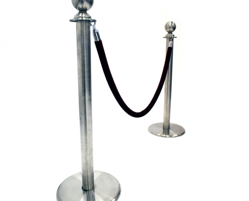 Barrier post and rope hire - 2 posts