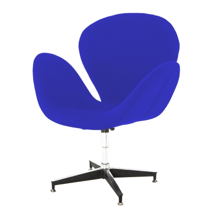 DE111 Swan chair hire - Blue