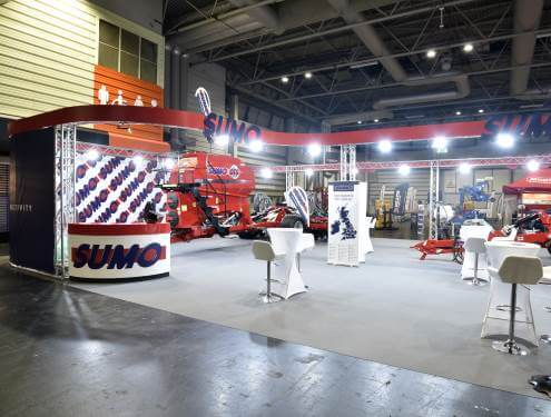 Exhibition truss hire
