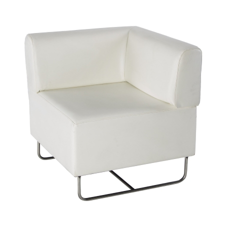 LS05 Martina corner unit hire - White
