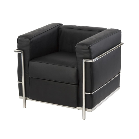 LS57 Onda armchair hire - Black