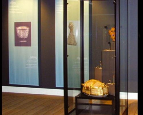 Modular museum showcase 1