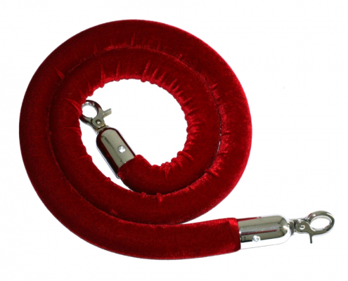 Red velvet rope hire