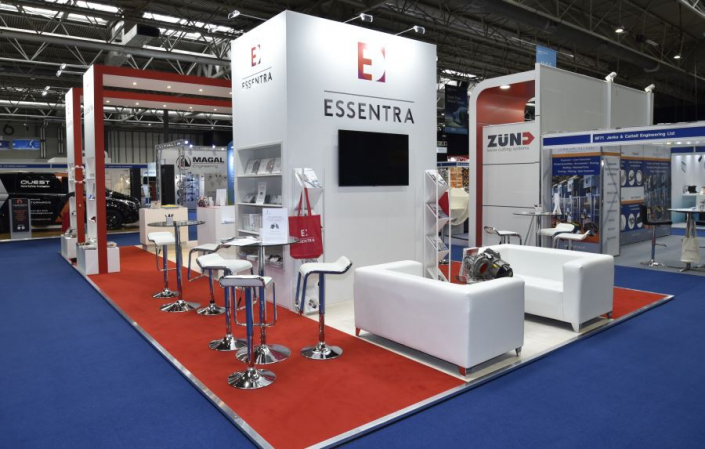 10m x 6m exhibition stand at Automechanika