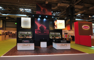 7m x 5m exhibition stand at BBC Good Food Show Summer