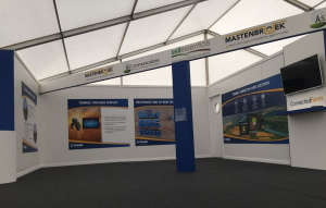 22m x 12m outdoor exhibition stand at Cereals - 3