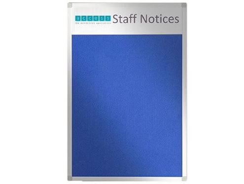 Custom felt noticeboard - Staff Notices