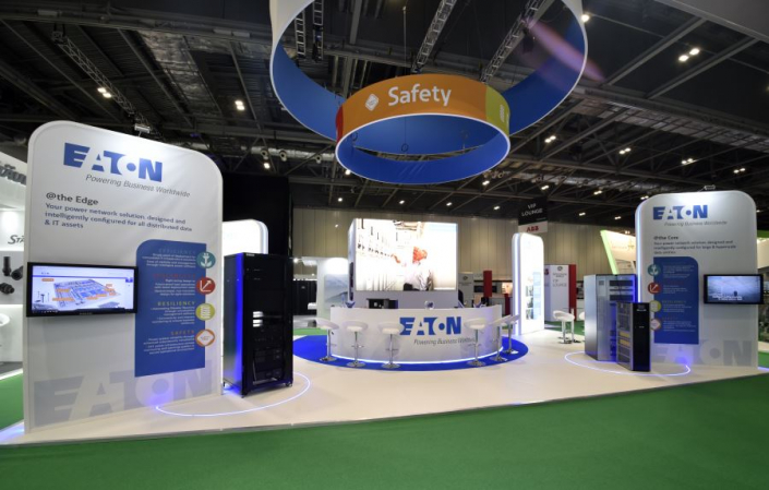 12m x 7m exhibition stand at Data Centre World 2019