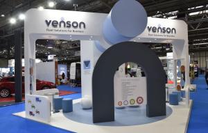 6m x 6m exhibition stand at Fleet Management Live