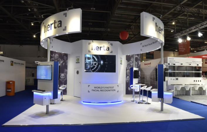7m x 6m exhibition stand at IFSEC