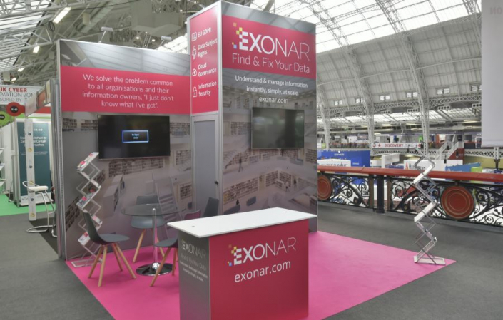 Exhibition stand hire 3.5m x 4m