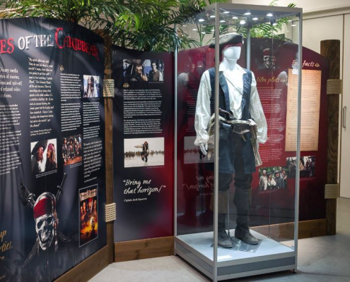 Mannequin display case - Shiver Me Timbers exhibition 2
