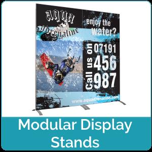Modular Display Stands