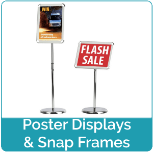 Poster Displays and Snap Frames
