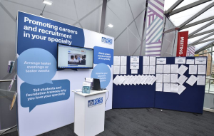Royal College of Radiologists exhibition stand at RCR - 2