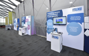 Royal College of Radiologists exhibition stand at RCR - 3