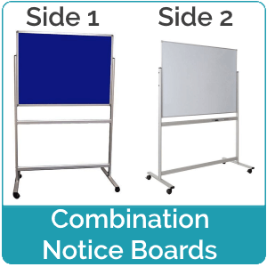 Combination Notice Boards