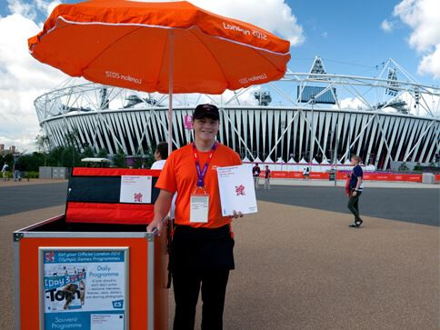 Handcart for London 2012 Olympics