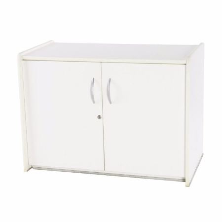 CB01 Polar Low Cupboard for hire in White