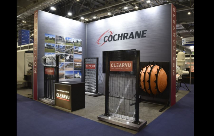 Exhibition stand hire 5m x 3.5m