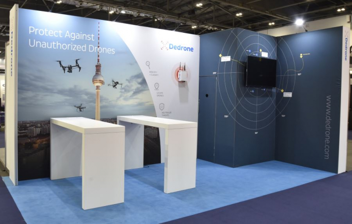 Exhibition stand hire 6m x 3m