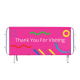 Printed graphic for crowd control barrier - Banner vinyl