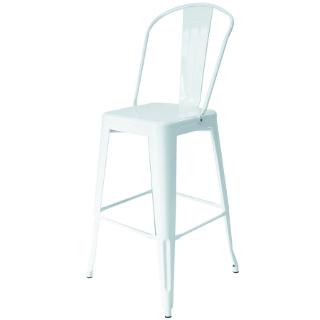 ST21 Tolix high back stool for hire