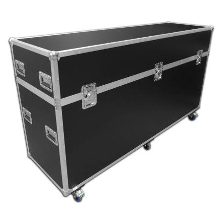 Exhibition flight case - 2450mm wide