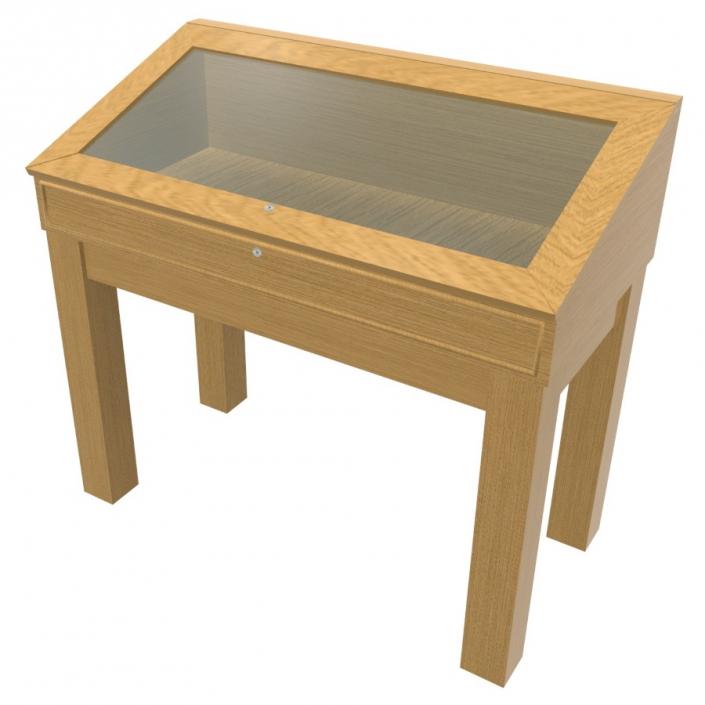 Wood Glass Display Case - Design 4