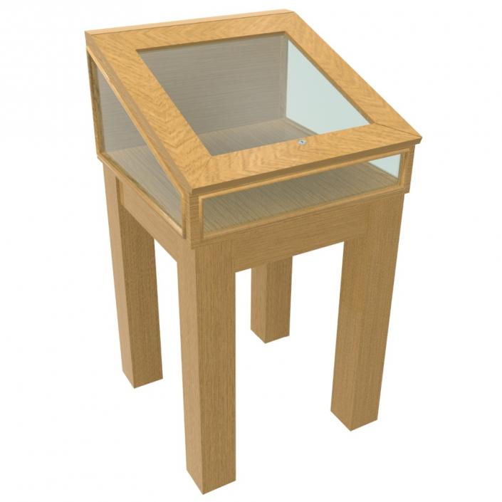 Wood Glass Display Case - Design 5