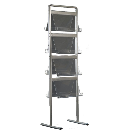 Double Sided A4 Brochure Display Stand