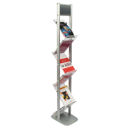 Zig Zag A4 Brochure Display Stand
